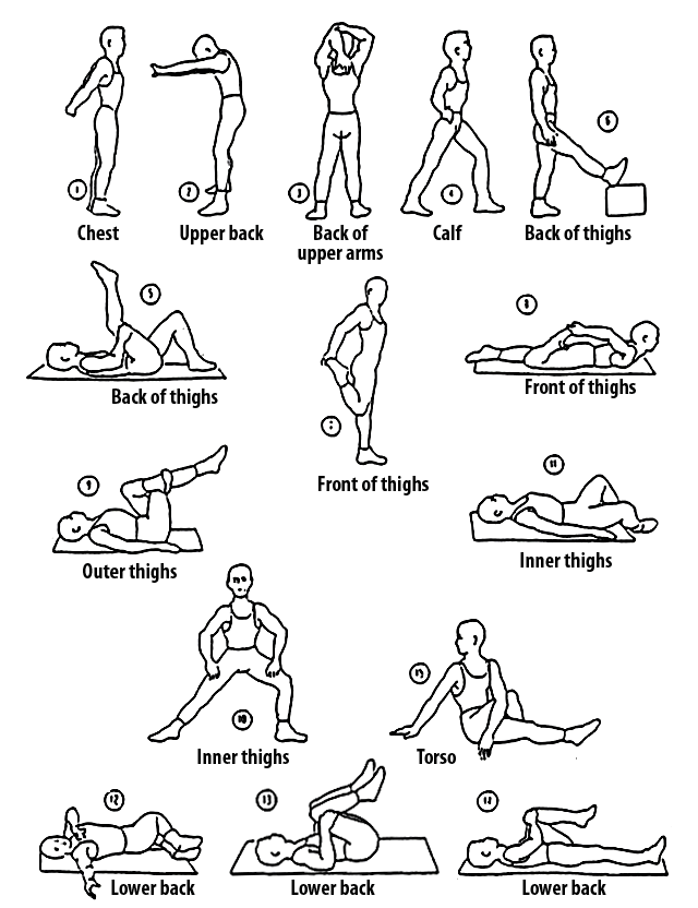 Running Stretches Howtorunbetter